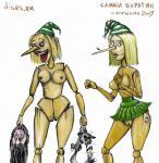 Самки буратин